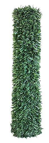 Seto Decor K050B Seto Artificial Decorativo de Hoja Normal de 0,5 x 5 Metros, Color Verde