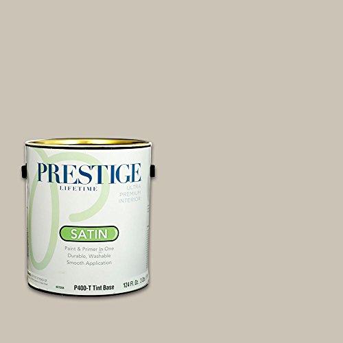 Prestige Interior Paint and Primer in One, 1-Gallon, Satin, Italian Straw