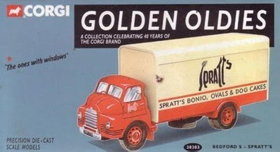 Corgi Golden Oldies 40th Anniversary Bedford S Spratt's Precision Die Cast Lorry Truck 1/50th Scale Model