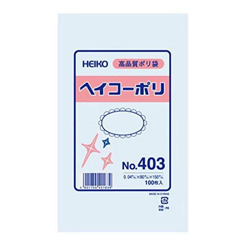 シモジマ HEIKO ポリ規格袋ヘイコーポリNo.403紐なし 006617300