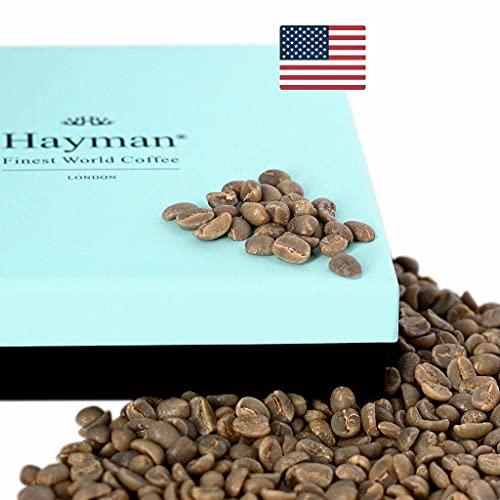 100% Café Kona de Hawai - Café de grano verde - ¡Uno de los mejores cafés del mundo, salido de la última cosecha! (Caja con 100g/3.5oz)