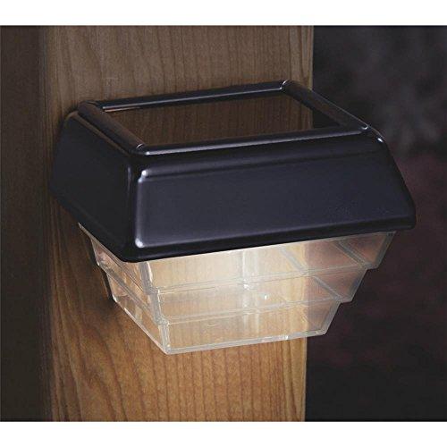 Ufpi Deckorators 94956 Deckorators Solar Deck Light, Black