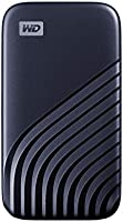 WD 2TB My Passport SSD External Portable Solid State Drive, Blue, Up to 1,050 MB/s, USB 3.2 Gen-2 and USB-C Compatible...