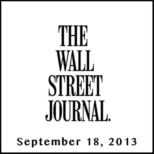 The Morning Read from The Wall Street Journal, September 18, 2013 copertina