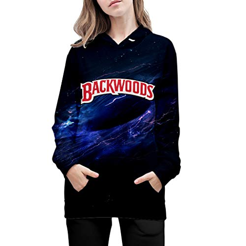 Moletom com capuz 3D Galaxy Backwoods moletom masculino feminino novidade casaco moletom moletom moletom com capuz Backwoods suéter (D, G)
