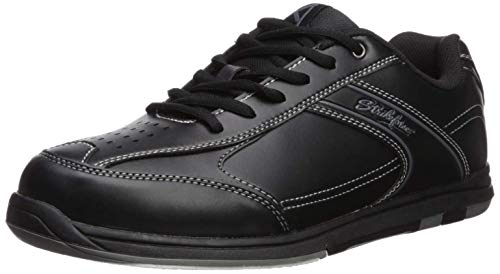 Strikeforce Flyer - Zapatos de Bolos para Hombre, Talla 42, Color Negro