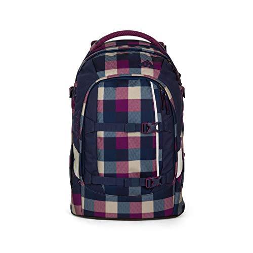 Satch Schulrucksack-Set 5-TLG Pack Berry Carry Lila