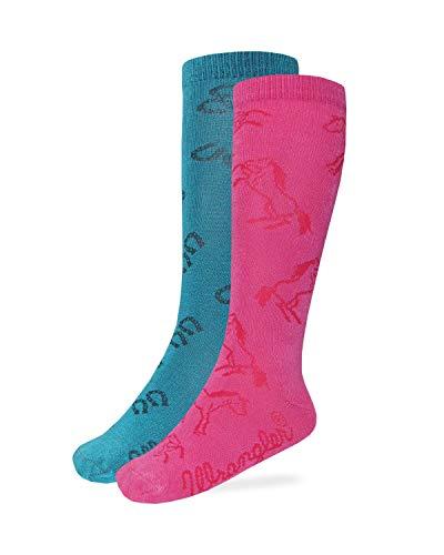 Wrangler Girls Boot Socks Assorted Colors