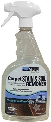 Shaw R2X Carpet Stain & Soil Remover 32 Ounces Spray