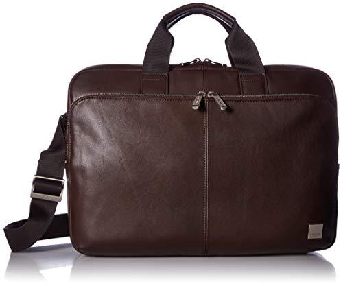 Knomo 155-256-BRN 'Newbury' Briefcase for 15-Inch Laptop - Brown