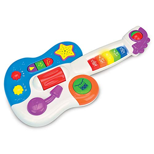 The Learning Journey Early Learning - Little Rock Star Guitar - Baby & Toddler Toys & Gifts for Boys & Girls Ages 12 months and Up - Award Winning Toy