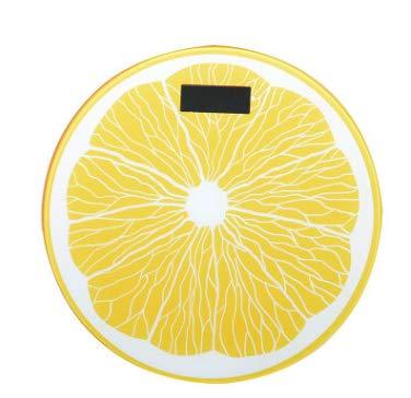 sufengshop Balanzas electrónicas recargables Básculas de salud doméstica Básculas del cuerpo humano Básculas de adultos Básculas femeninas pequeñas Amarillo