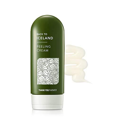 THANKYOU FARMER Back to Iceland Peeling Cream | Exfoliating, Natural Cellulose | 5.27 Fl Oz (150ml)