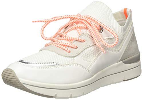 MARCO TOZZI 2-2-23729-24, Zapatillas Mujer, Blanco Blanco neón 179, 37 EU