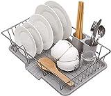 DLYDSSZZ Scarpe da Cucina Cremagliera da Cucina Cappello da Cucina in Acciaio Inox Piatto Drenaggio Rack da Cucina Scodellina Drenaggio Drenaggio Asciugatura Portlery Racks (Color : -, Size : -)