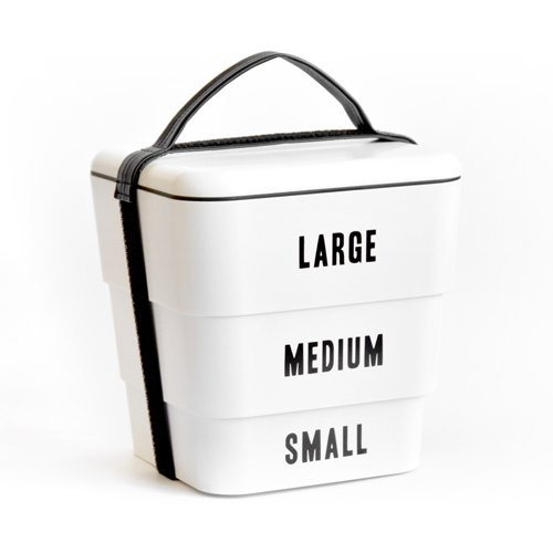 Floyd ラベルドスタッカブルボックス Labeled Stackable Box 日本製 [ ホワイト / 3サイズSET ]