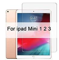 9H強化ガラス専用 保護フィルム 耐指紋 撥油性 高透過率 気泡ゼロ 自動吸着 硬度9H ラウンド加工処理 for iPad 10.2インチ2019 2.5Dフルカバースクリーンプロテクターfor iPad Pro 11 ipad Air 2 3 ipad MiNi 5 4 3 2 2017 2018 Glass (Ipad Mini 1 2 3)