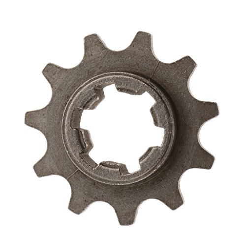 SDENSHI 11 Zähne Kettenrad Kettenantrieb Kettenritzel für 49cc Mini Pocket Bike Dirt Bike, passend für 8mm T8F Ketten, Rostfrei, Korrosionsschutz