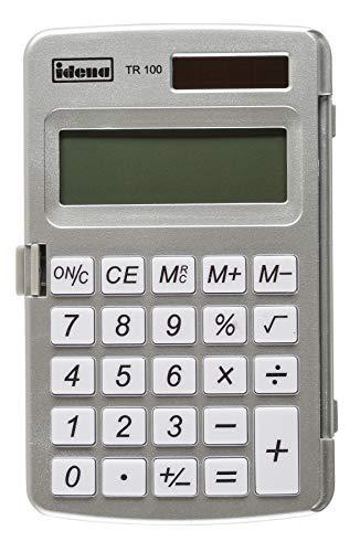 Idena 505275 - Taschenrechner TR 100, 8-stellig, 1 Stück
