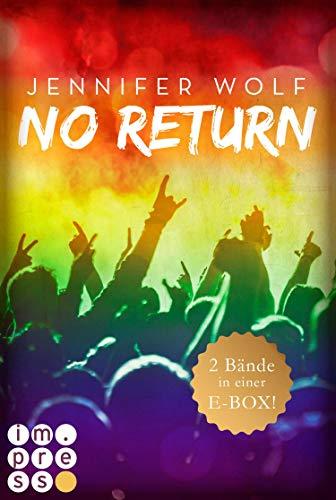 No Return: Die ersten beiden Bände der Bandboys-Romance-Reihe in einer E-Box! (German Edition)