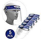 Safety Face Shield,5 Pack Face mask...