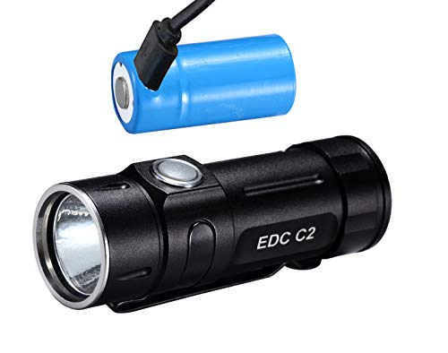 FOLOMOV EDC C2 335lumens High CRI 98 EDC linterna