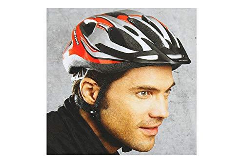 Crivit Fahrradhelm Sportivo Biker Professional IAN 30000 Unisze [54-60 cm] Rot