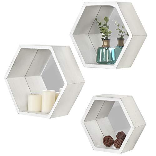 estante hexagonal de la marca MyGift