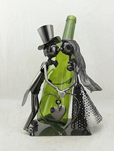 CE Flaschenhalter,Flaschenständer,Weinflaschenhalter Just Married