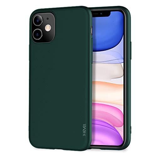 X-level für iPhone 11 Hülle, [Guardian Serie] Soft Flex TPU Case Ultradünn Handyhülle Silikon Bumper Cover Schutz Tasche Schale Schutzhülle Kompatibel mit iPhone 11 - Grün
