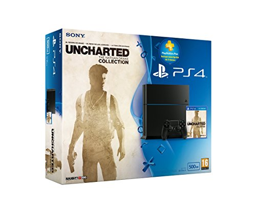PlayStation 4-Gioco 500 GB Chassis C Uncharted Collection sottoscrizione 3 mesi PS