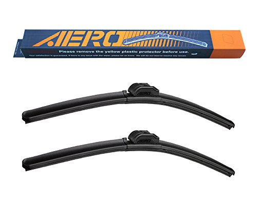 AERO Premium All-Season Beam Windshield Wiper Blades Replacement for Ford Taurus 2014-2011 26'+20' (Set of 2)