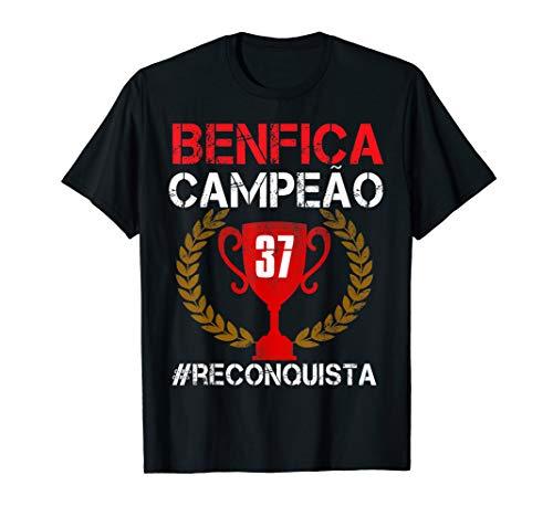 Benfica Shirt Campeao 37 Reconquista Gift T-Shirt