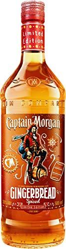 Captain Morgan Gingerbread, mit Lebkuchen Geschmack  Spiced (1 x 0.5 l)