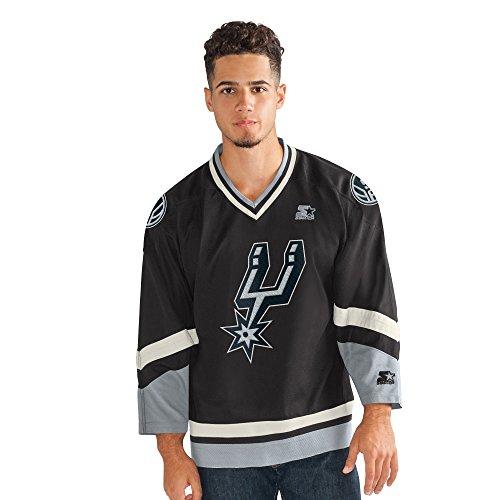 STARTER Legend Hockey-Jersey, für Erwachsene, Schwarz, XL