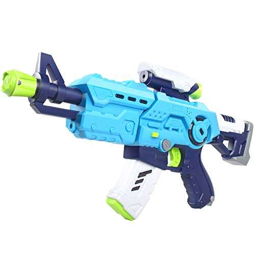 Wenime Space Sound and Light Toy Gun with LED Lights and Sound Effects with BatteryExcellent Birthday GiftsAged 3