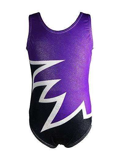 QoozZ Little Girls#039 Onepiece Dancing Tumbling Gymnastics Athletic Camisole Leotards Biketards Size 810