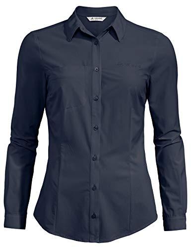 Vaude Damen Bluse Women's Skomer LS Shirt, Eclipse, 40, 41960