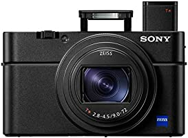 Sony RX100 VI 20.1 MP Premium Compact Digital Camera w/ 1-inch sensor, 24-200mm ZEISS zoom lens and pop-up OLED EVF