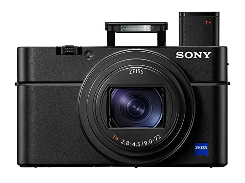 Sony RX100 VI 20.1 MP Premium Compact Digital Camera w/ 1-inch sensor, 24-200mm ZEISS...