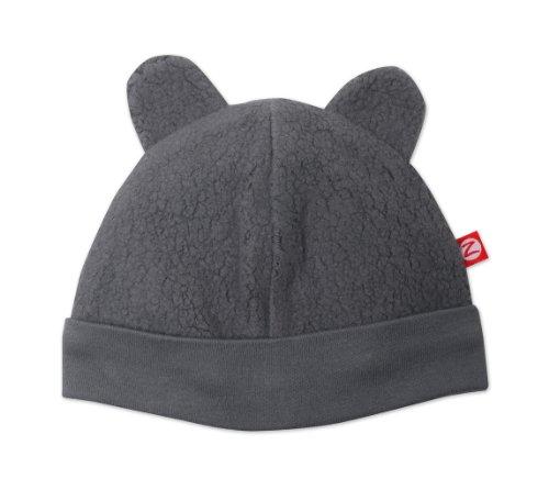 Zutano baby-boys Unisex Baby Fleece Hat ,Gray ,0-3...