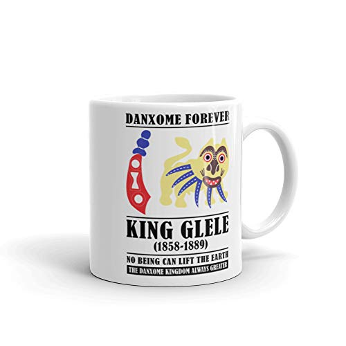 Danxome Forever - Taza blanca King GLE (11 oz), color blanco