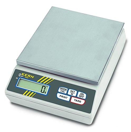 Kern & Sohn wlpa4000 440 serie precisieweegschaal, 150 mm x 170 mm platform, 165 mm lengte x 230 mm breedte x 80 mm hoogte, 4000 g bereik weegschaal, 0,1 g