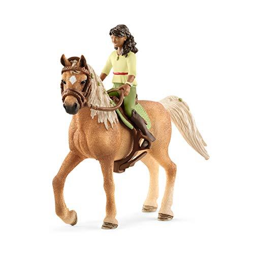 Schleich- Figurine Horse Club Sarah & Mystery, 42517, Multicolore