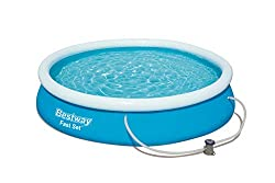 Fast set pools are easy to set up (tool free) and maintain so you can splash around and cool off on hot summer days with ease Strong and Durable Build: Pool is made from heavy duty three ply TriTech material for increased rigidity and strength Easy I...