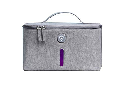 Ondergoed ontsmettingszak Sterilisatietas LED UV Sterilizer Box met USB Input voor Baby Beauty Tools Ondergoed Roze Of Grijs Grijs