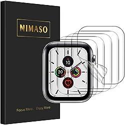 【5枚セット】Nimaso Apple Watch Series 6 / SE / 5 / 4 44mm 液晶保護フィルムの商品画像