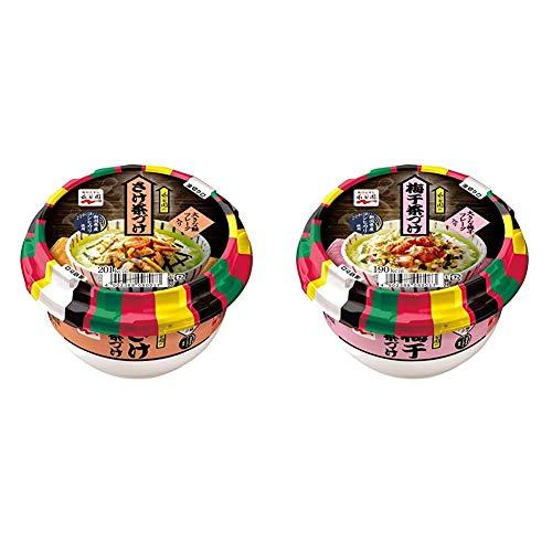 【セット買い】永谷園 カップ茶づけ12個(さけ×6個 + 梅干茶づけ×6個)