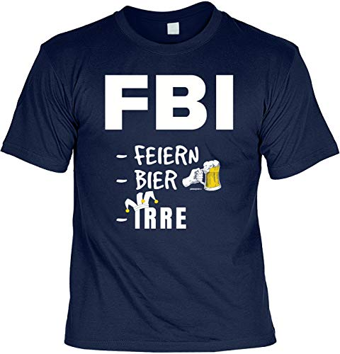 Carnavalshirt T-shirt FBI feesten bier irre carnaval pak Leiberl fun carnavaltijd carnaval carnaval carnaval kostuum
