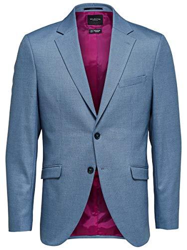 SELECTED HOMME Slhslim-mylologan Lt Blue Stc BLZ B Noos Blazer para Hombre